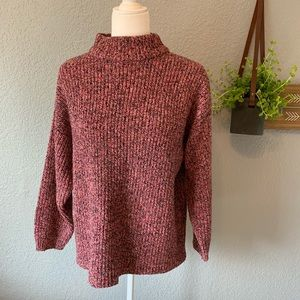 VINTAGE Venezia 80's Sweater Pink Confetti